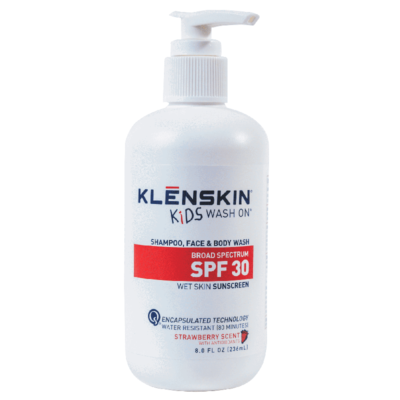 KLĒNSKIN Sunscreen Kids Wash On
